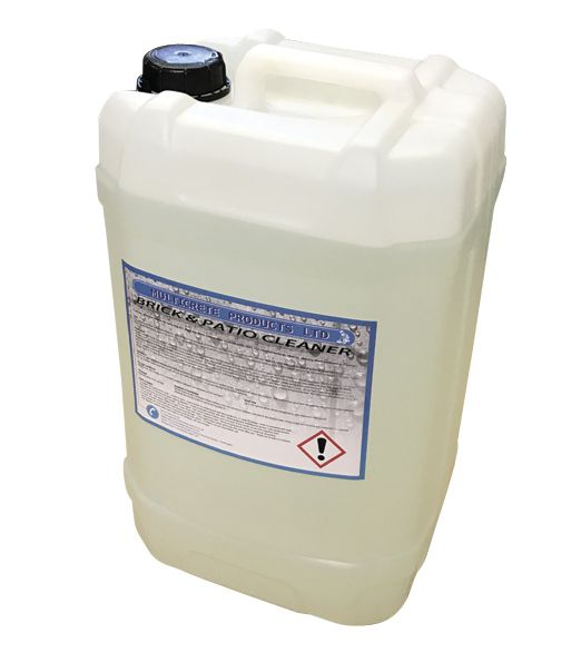 multicrete hydrochloric acid brick and patio cleaner 25ltr 10 strength