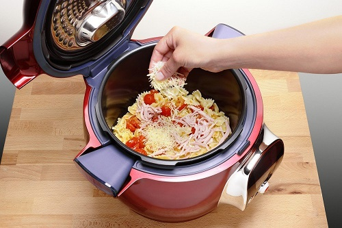 Acheter Moulinex CE701500 Cookeo Rouge multicuiseur intelligent avec 100 recettes