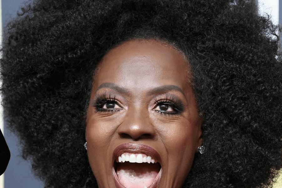 Viola Davis Natural Hair