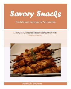 savory snacks recipe book