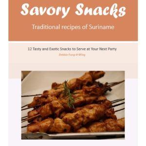 savory snacks recipe book