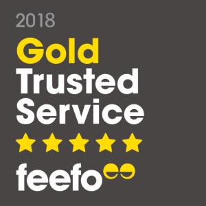 Feefo Gold Trusted Service Award 2018 Multi Gadget Insure