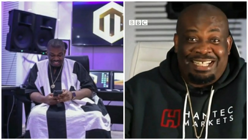 """Don Jazzy: """"Ladies I dated all knew I was married"""" (Video)"""