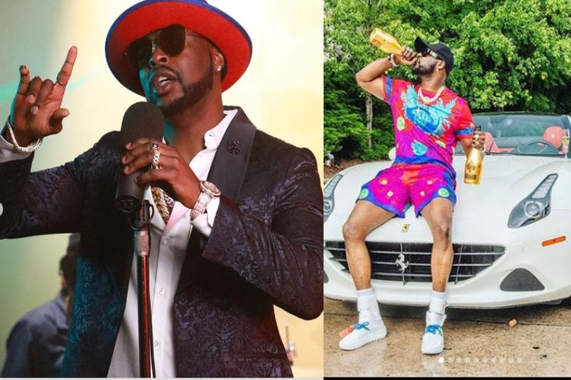 Nigerians blows hot After US-based Rapper, King Joel Bought Ferrari