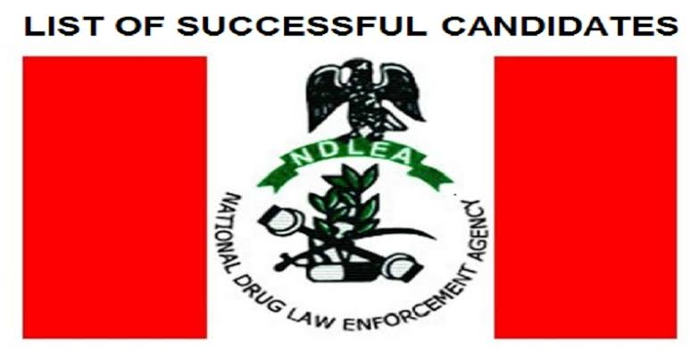 NDLEA Drops Full List of Successful Recruited Candidates