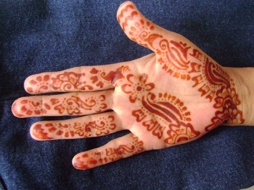 How To Apply Henna On Your Hands