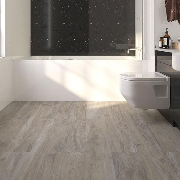 tile alternative for bathroom floors