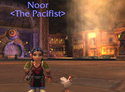 noor wow pacifist