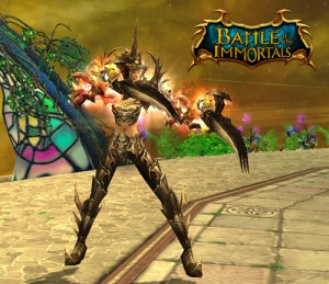 Clawed warrior image from BOI