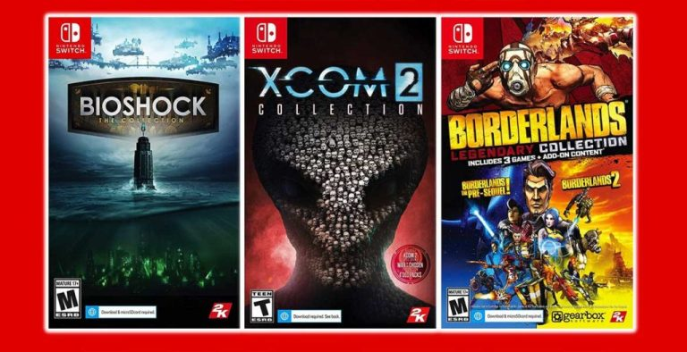 BioShock Borderlands ve XCOM Switch'e