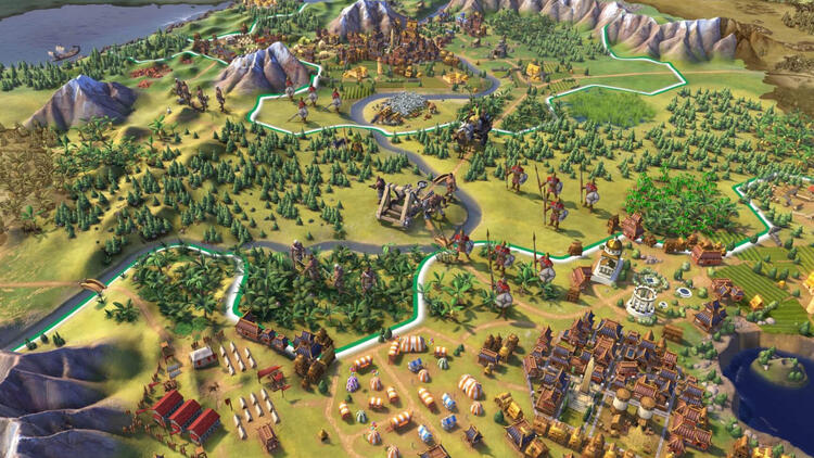 Civilization 6 Android' geldi