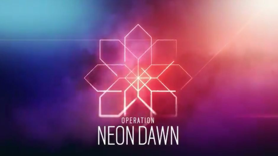 Rainbow Six Siege Neon Dawn