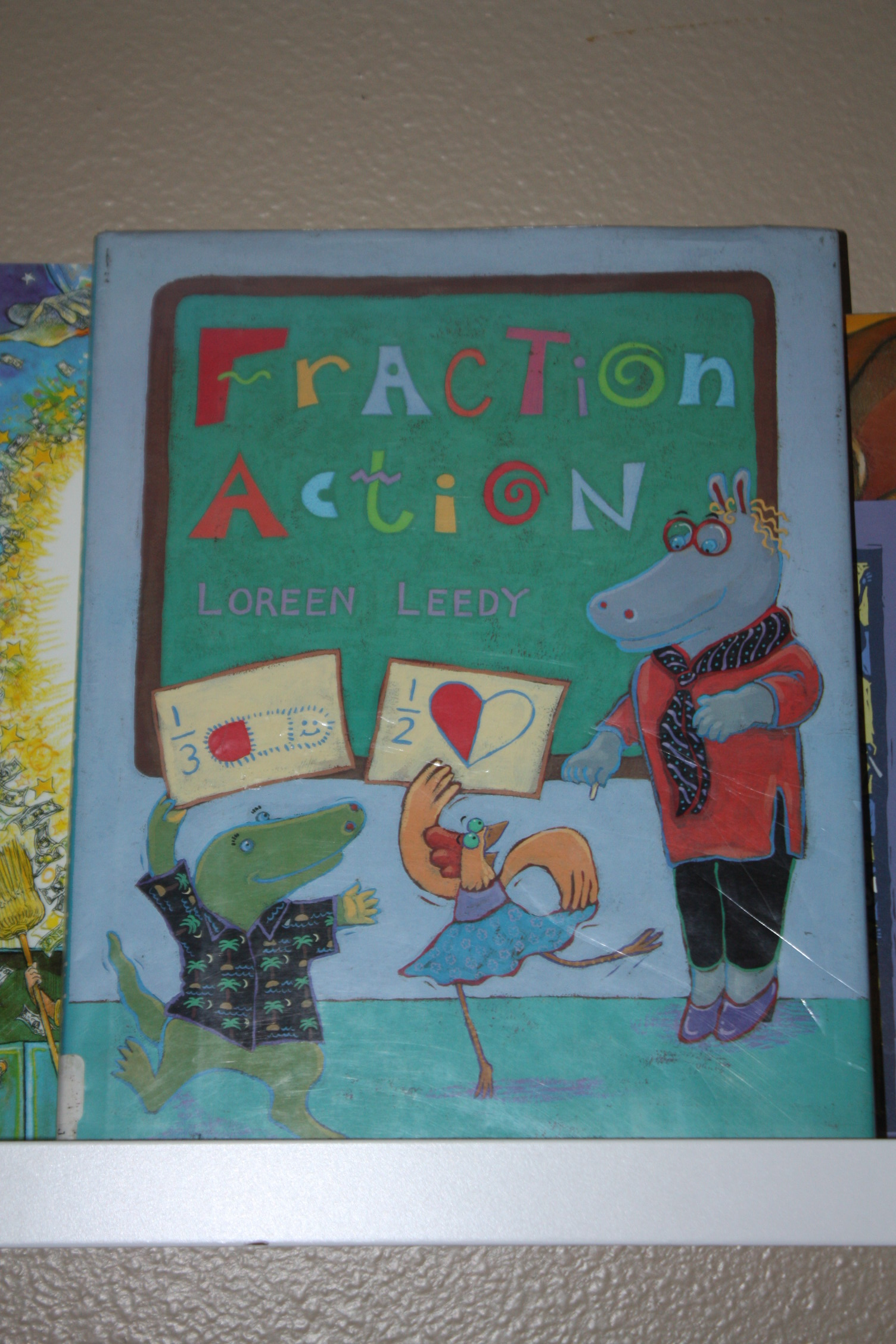 Fraction Action By Loreen Leedy