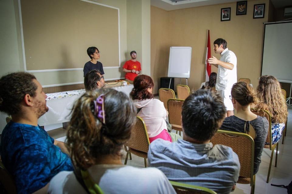 Encuentro de jóvenes emprendedores en Bali, Indonesia
