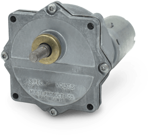 Picture of a model 302 DC gear motor