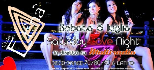 Multiradio in diretta dallo CHALET ETNA', Civitanova Marche - sabato 5 luglio
