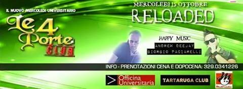 mercoledì 15 ottobre Multiradio Live a LE 4 PORTE Macerata