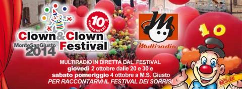 Multiradio al Clown&Clown festival - Monte San Giusto