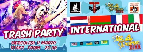 Le 4 Porte Macerata -  trash party international - 11 marzo 2015