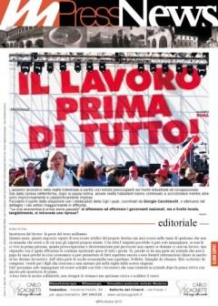 Multiradio Press News - ottobre 2015 - prima pagina