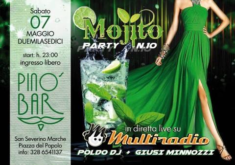 Sabato 7 Maggio il decimo Mojito Party a San Severino Marche da non perdere !