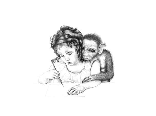 Alice (Drawing) | The Multispecies Salon