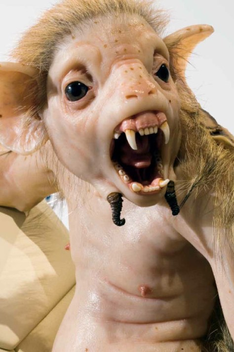 The Bodyguard by Patricia Piccinini