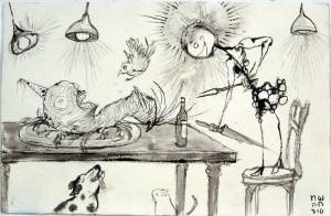 Slug Fest (2010) by Myrtle von Damitz III
