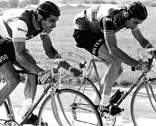 Jimenez & Eddy Mercx (Courtesy: Giovanni Jimenez)