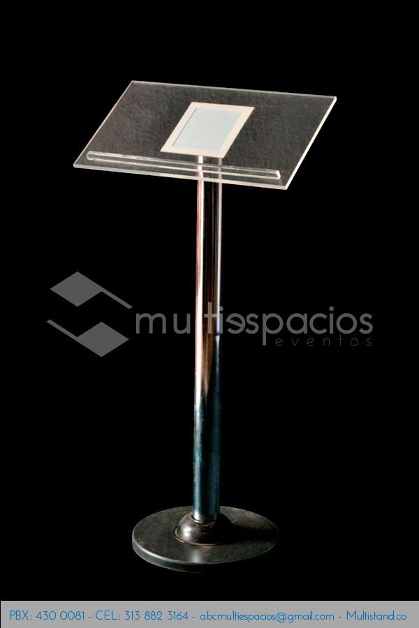 Alquiler de atril para conferencias en Bogotá