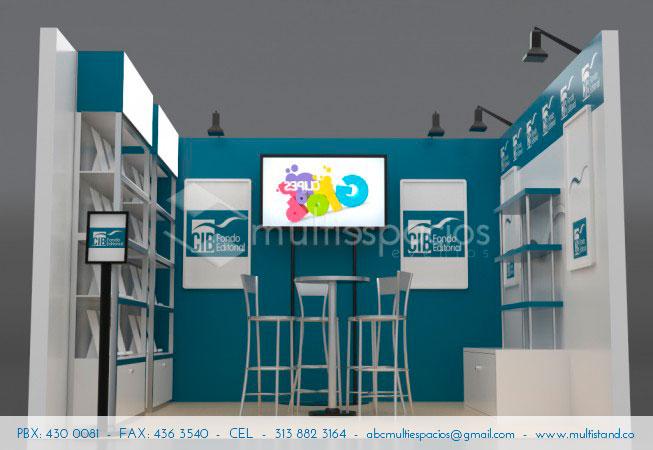 Diseño, instalación y desmontaje de stands, servicio integral en Bogotá