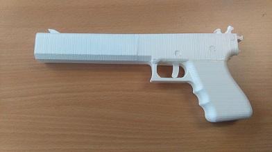 3D pistolj