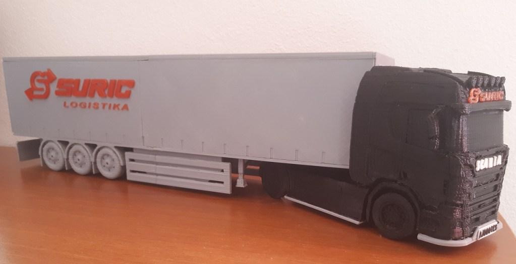 3D kamion Scania R500 – Šurić logistika