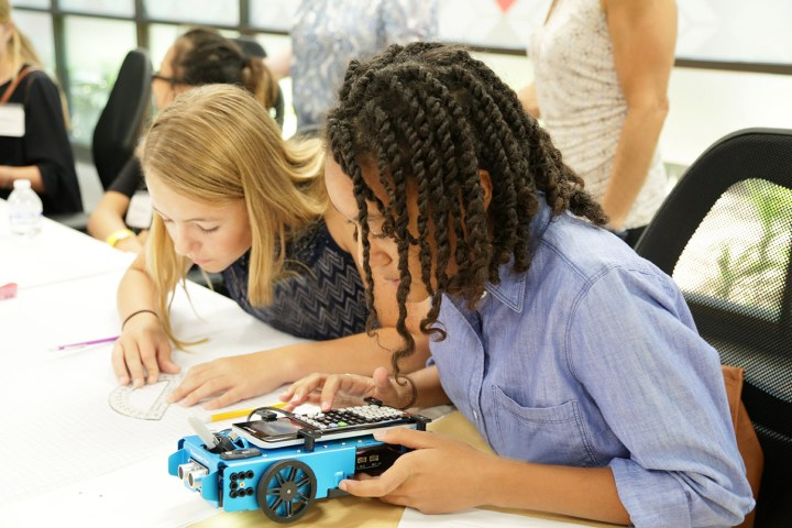 The TI-Innovator Rover gives students without any coding experience an on-ramp to robotics.