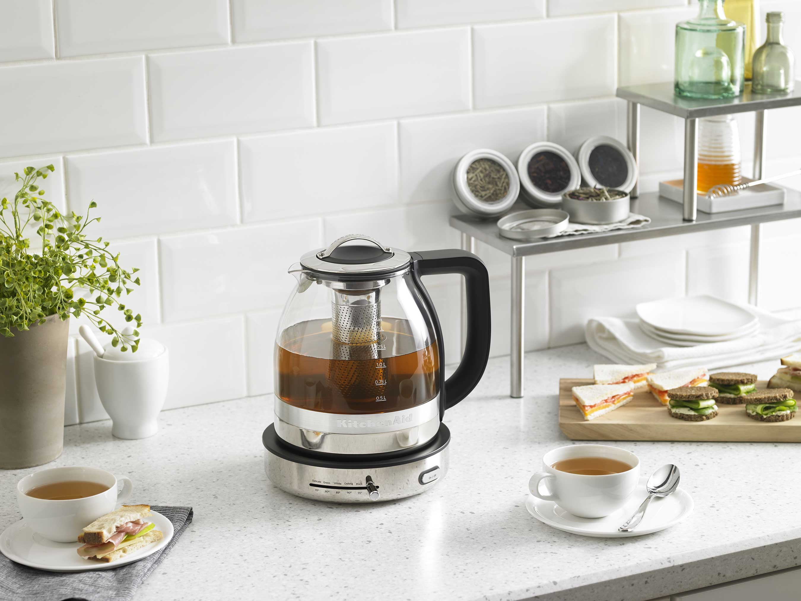 New KitchenAid Glass Tea Kettle Is A Tea Lovers Dream