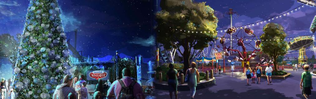 NEW CLASSIC THRILL RIDES AND WINTERFEST HOLIDAY FESTIVAL