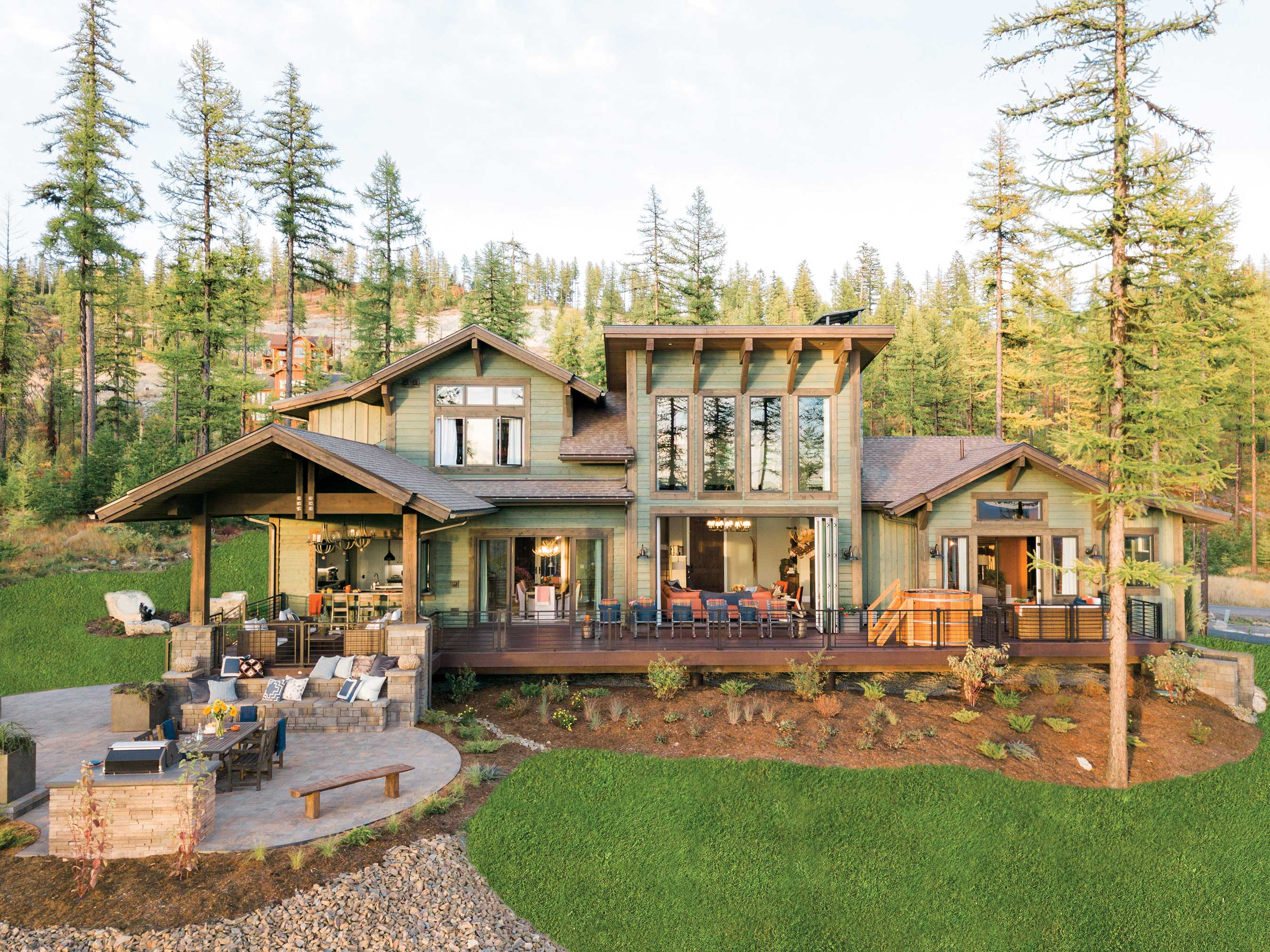 HGTV Unveils Its Largest Giveaway Ever: The Stunning HGTV ... on Dream House Backyard id=54574