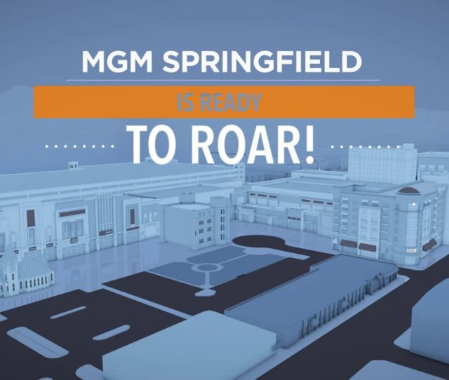 B Roll Mgm Springfield Makes New England Debut