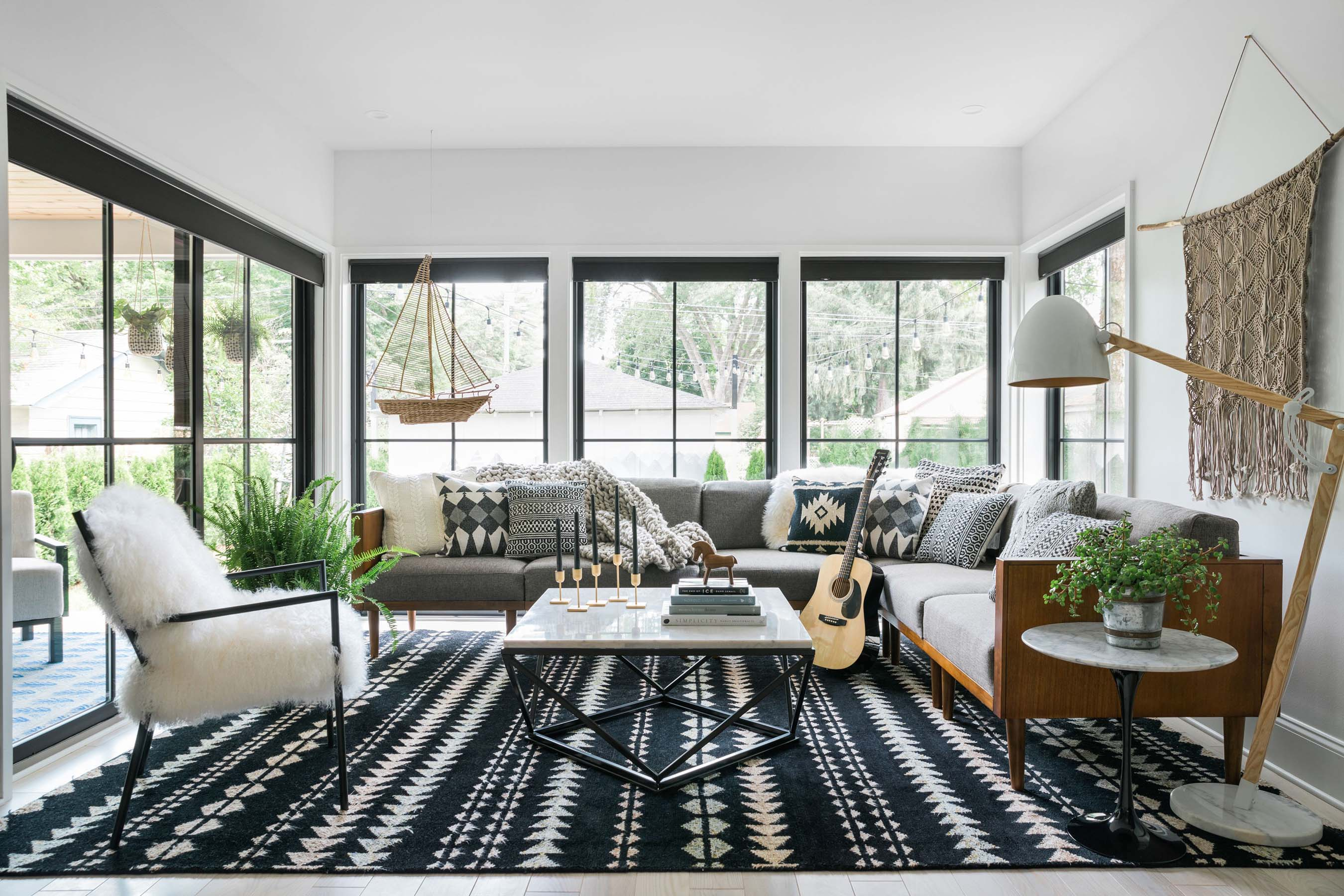 Take a Virtual Tour of HGTV Urban Oasis 2019 Located in ... on Small Living Room Ideas 2019  id=73779