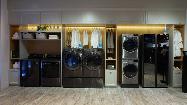 LG Styler and Ultimate Laundry Room