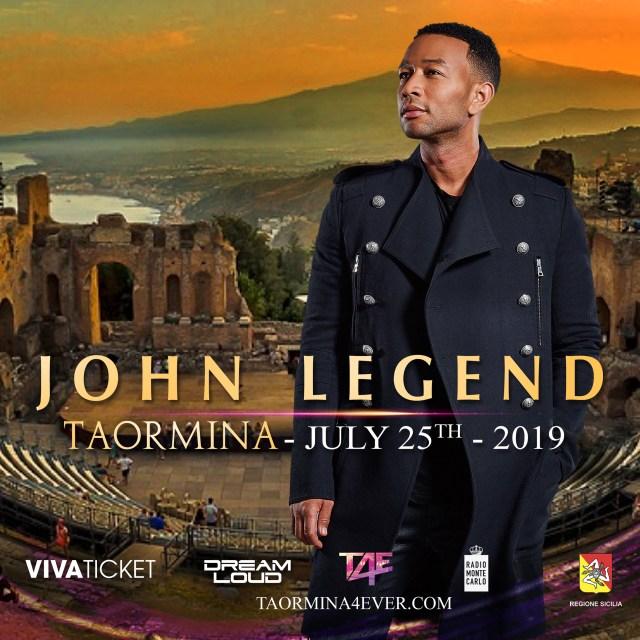 John Legend Taormina4Ever