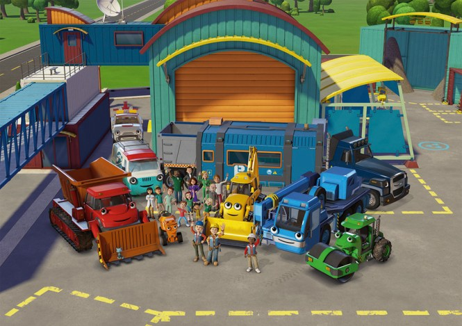 Bob The Builder Vehicle And Accessory Set Muck