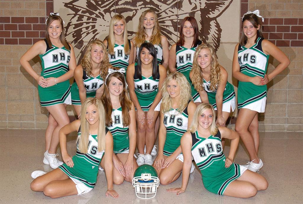 Cheerleaders Alumni Mulvane High School