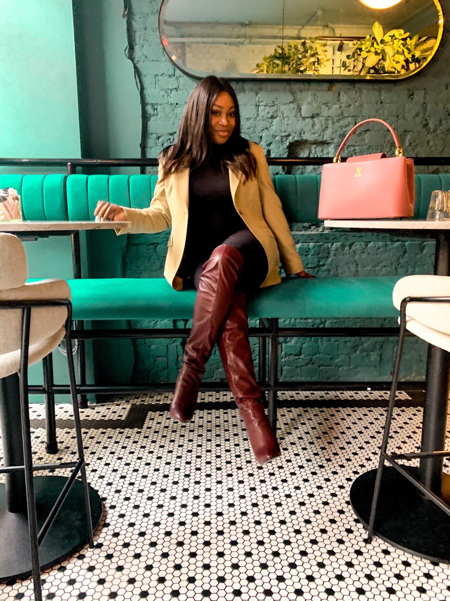 Ayesha Amato Mum a Porter fashion blogger