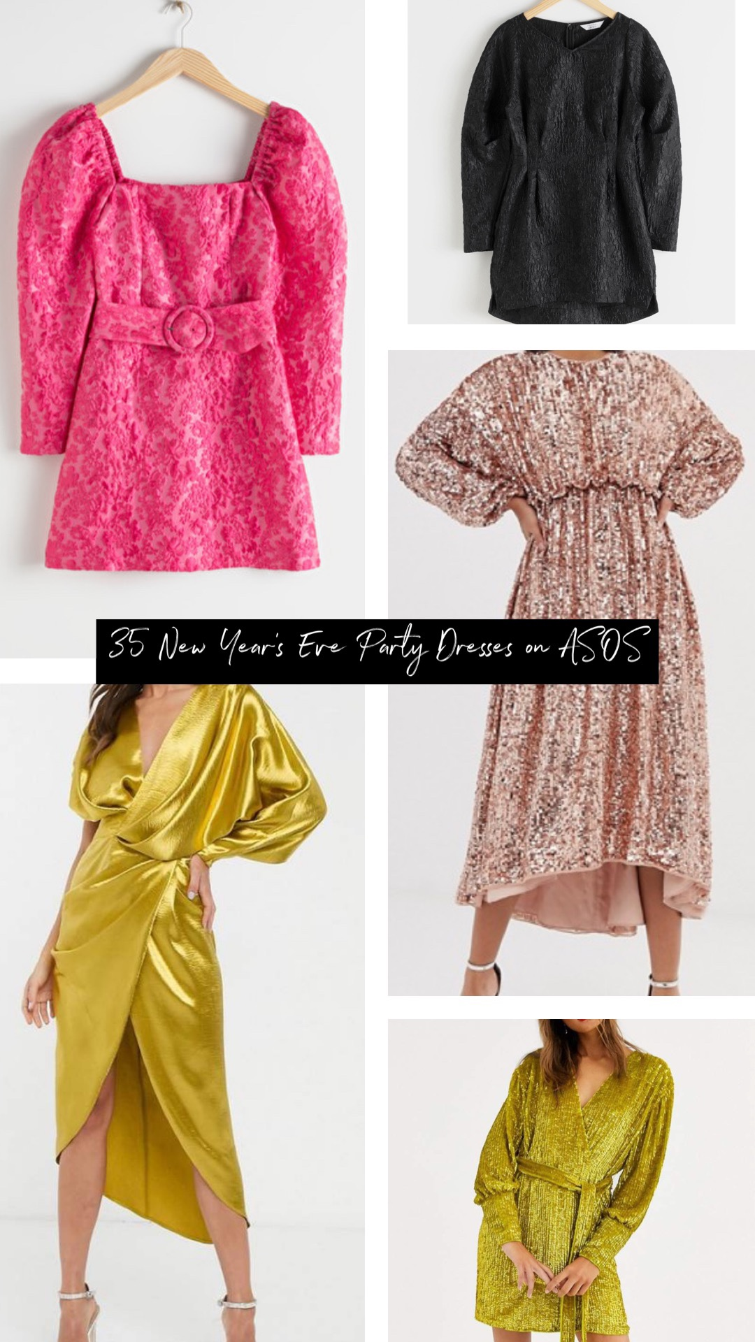 ASOS party dresses perfect for new years eve