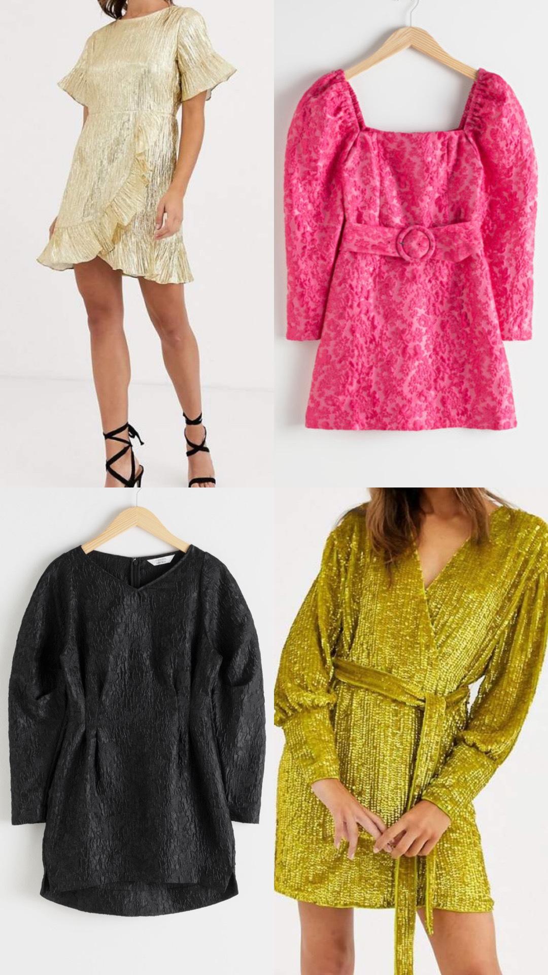ASOS mini dresses  Mum a Porter fashion edit