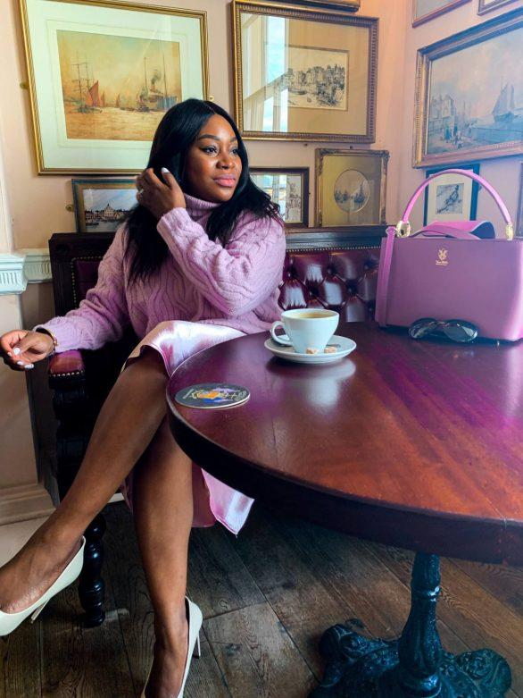 styling lilac Mum a Porter