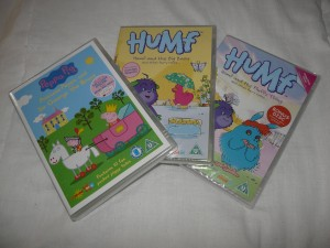 Peppa Pig and Humf DVD's