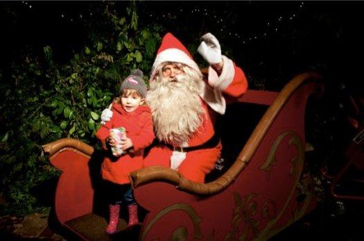 Santa at Painshill Park