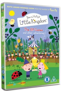 Ben and Holly's Little Kingdom The Elf Games DVD